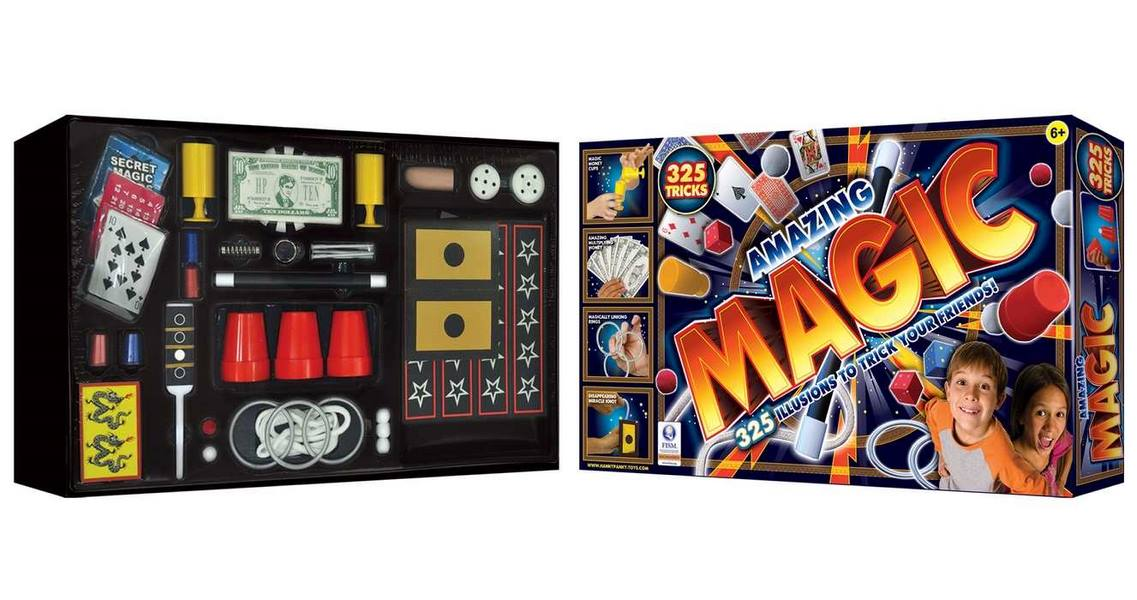 amazing magic  325 tricks — africa's most loved toy store